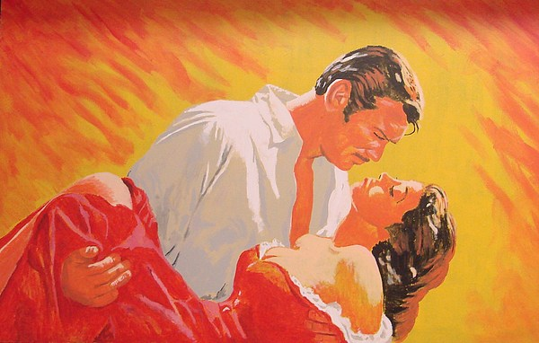 Gone With The Wind Painting - Gone With The Wind by Bob Gregory