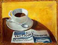 Nothing Better Painting - Good Morning Clyde by Eileen Martin