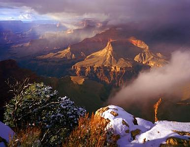 Hopi Point Photograph - Grand Canyon  Arizona by Tom Narwid