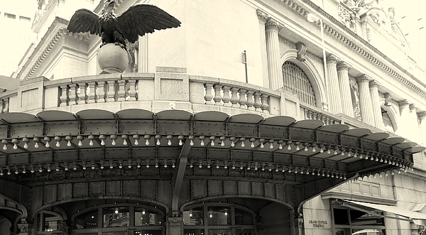 New York City Photograph - Grand Central Detail by Dan Stone