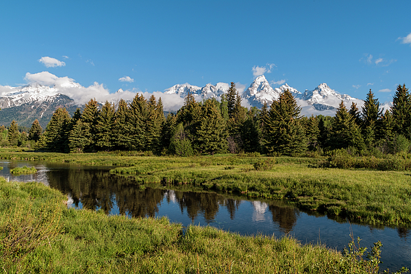 Landscape Photograph - Grand Teton Reflection by Brian Harig