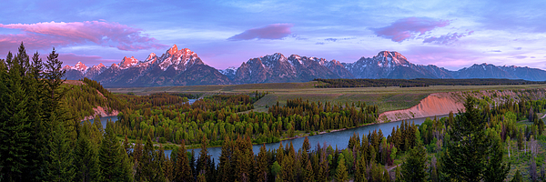 Grand Tetons Photograph - Grand Tetons by Chad Dutson