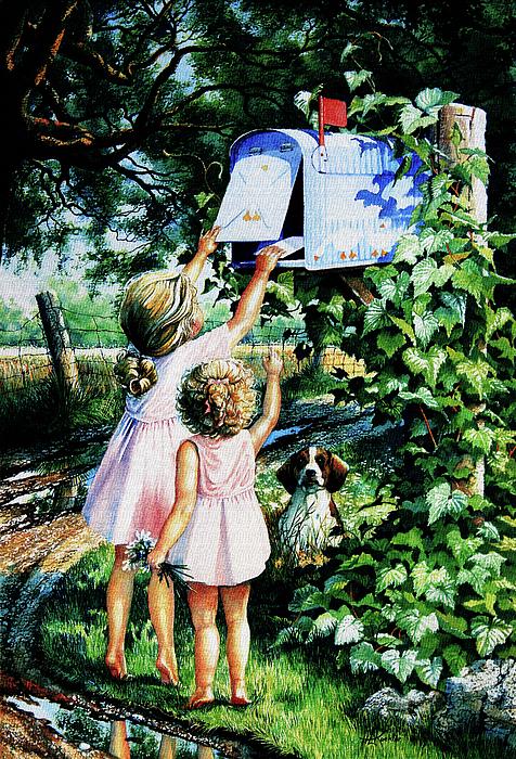 Grandmas Letter Painting
