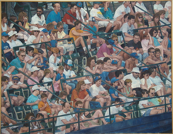 Grandstand Mosaic Painting by James Sparks