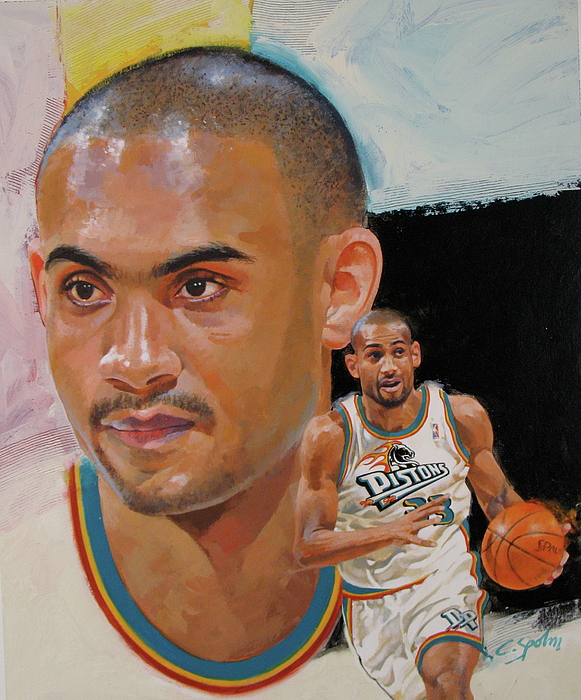 Acrylic Painting - Grant Hill by Cliff Spohn
