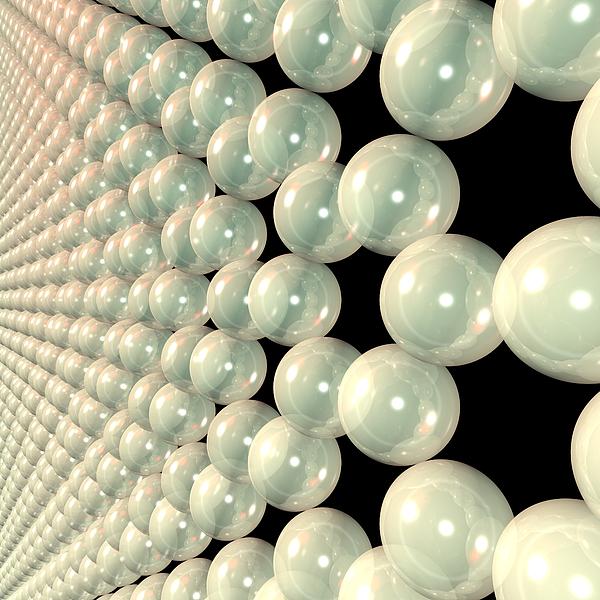 Allotrope Digital Art - Graphene 6 by Russell Kightley