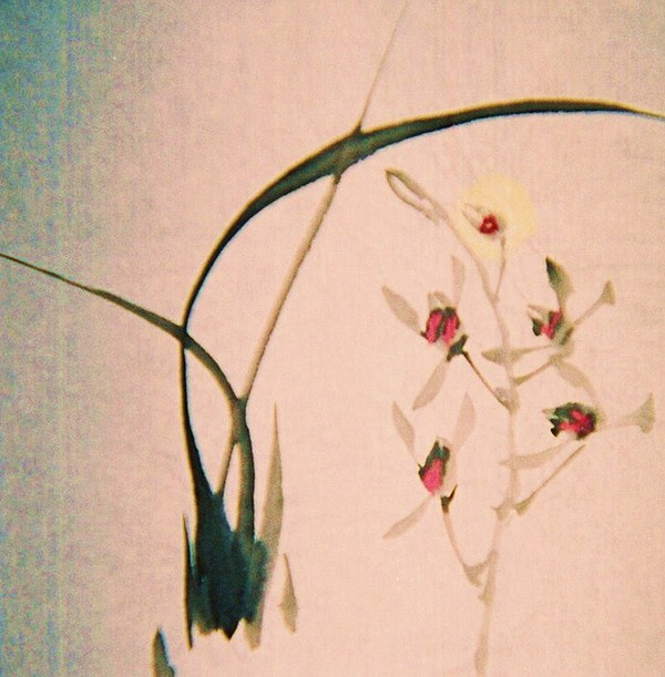 Herbs Painting - Grass And Buds by JuneFelicia Bennett