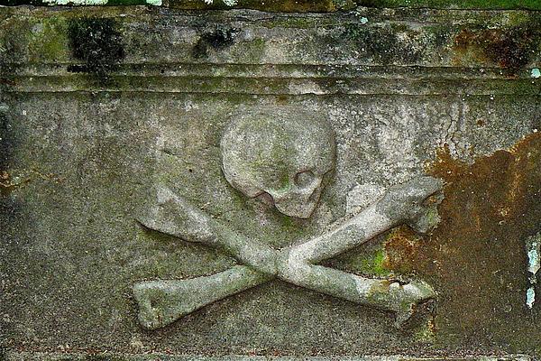Grave Photograph - Grave Business 2 by Robert Joseph