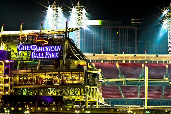 Great American Ballpark Photograph - Great American Ballpark by Keith Allen