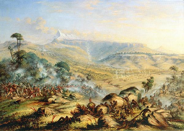 Thomas Baines Painting - Great Peak Of The Amatola-british-kaffraria  by Thomas Baines