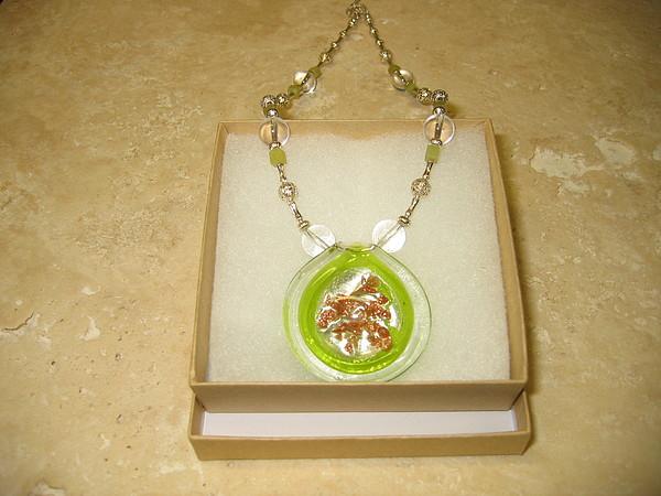 Original Jewelry - Green Beauty Necklace by Treasure-Tob