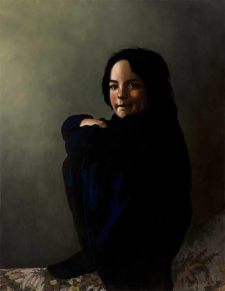 Greta Painting by Murad Sayen