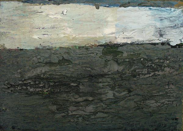 Greyland Painting by Maciek Ratajczak