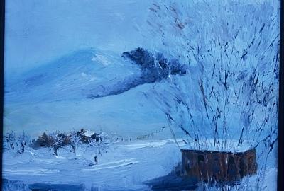 Montana Painting - Greyson Creek View by Bryan Alexander