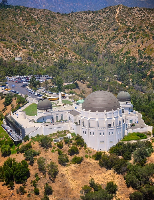 Griffith Observatory Photograph - Griffith Observatory by Matt MacMillan