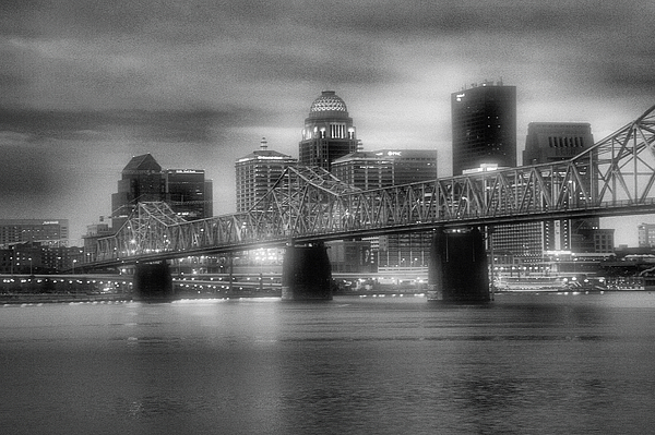 River Photograph - Gritty City by Steven Ainsworth