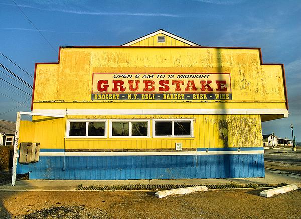 Shop Photograph - Grubstake by Steven Ainsworth