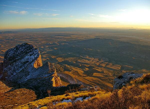 Guadalupe Peak Photograph - Guadalupe Peak by Arthurpete Ellison