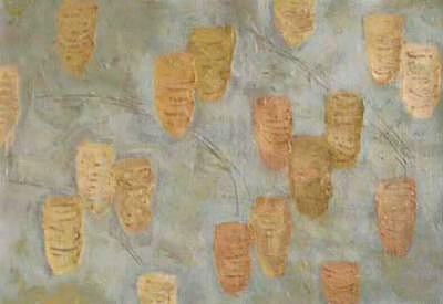 Jar Painting - Gvase10 by Juan Luis Quintana