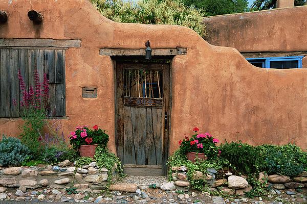 Southwest Photograph - Hacienda Santa Fe by Jim Benest