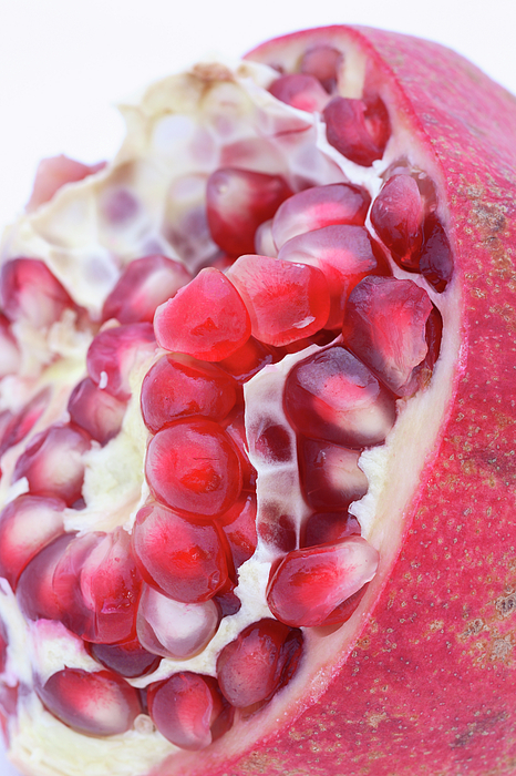 Pomegranate Photograph - Half A Pomegranate by Frank Tschakert