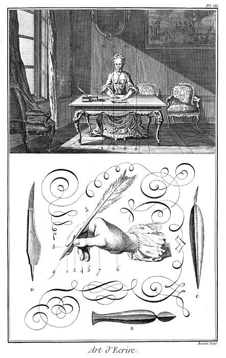 18th Century Photograph - Handwriting, 18th Century by Granger