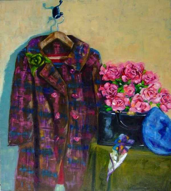 Coat Painting - Hannah by Glynis Berger