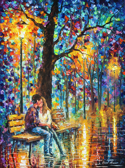 Painting Painting - Happiness   by Leonid Afremov