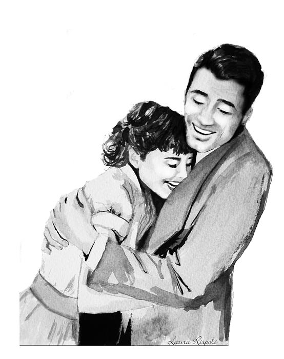 Hug Painting - Happy by Laura Rispoli