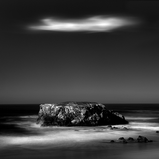 B&w Photograph - Harbinger No 2 by Cole Thompson