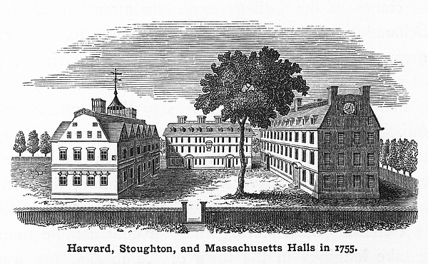 18th Century Photograph - Harvard University, 1755 by Granger