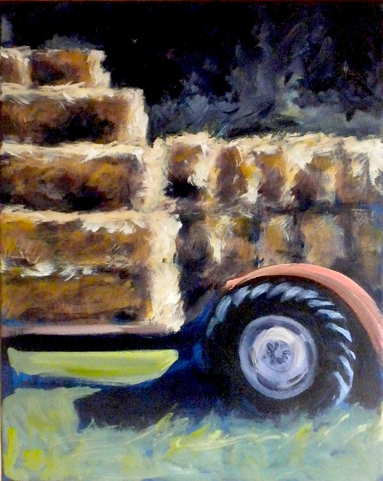 Harvest Painting - Harvest by Paula Strother