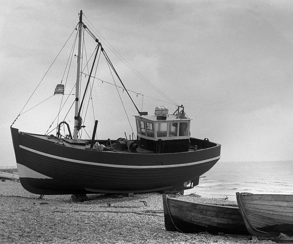 Hastings Photograph - Hastings England Fishing Boat  by Richard Singleton