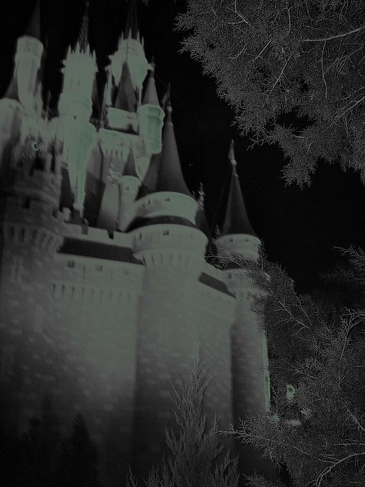 Haunted Photograph - Haunted Castle by Lindsay Clark