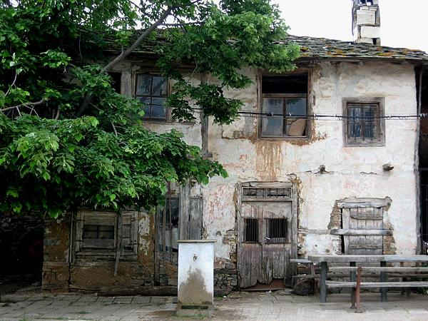 House Photograph - Haunted House In Bulgaria by Valia Bradshaw