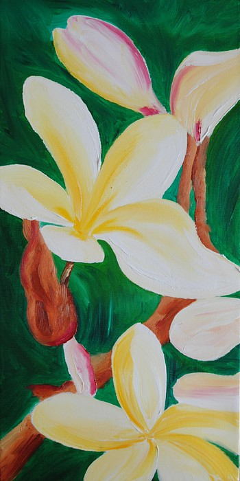 Abstract Painting - Hawaiian Aroma by John Johnson