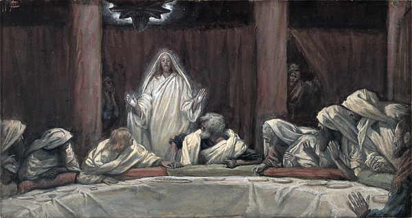 Tissot Painting - He Appeared To The Eleven by Tissot