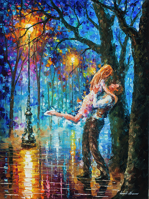 Painting Painting - He Proposal  by Leonid Afremov