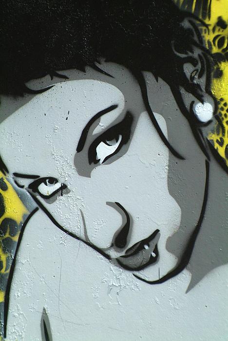 Headshot Photograph - Headshot Of A Young Woman by Luigi Petro