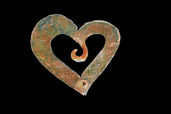 Heart Photograph - Heart And Hook by Tom Cheatham