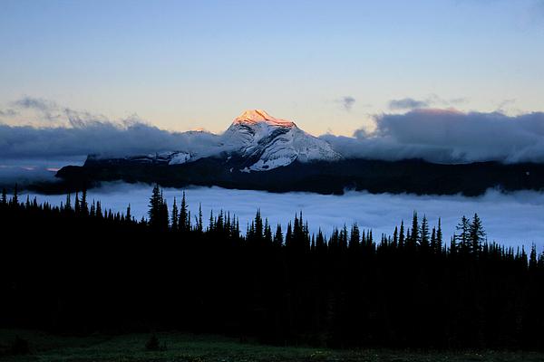 Landscape Photograph - Heavens Peak by Dave Hampton Photography