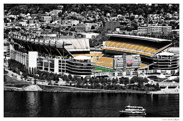 Stadium Photograph - Heinz Field by Scott Wyatt