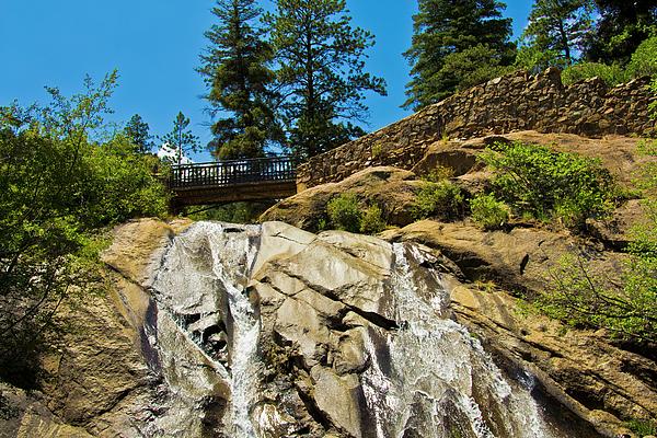 Colorado Photograph - Helen Hunt Falls by Angelina Vick