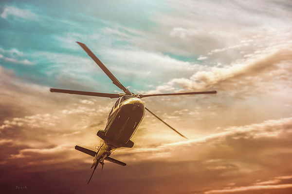 Aviation Photograph - Helicopter by Bob Orsillo