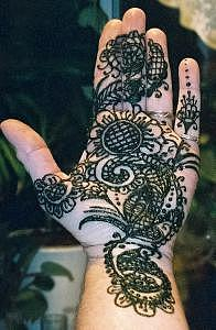 Traditional Mehndi Painting - Hella Henna by Janet Gioffre Harrington