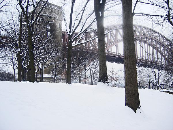 Bridges Photograph - Hellgate 5 by Bernadette Claffey