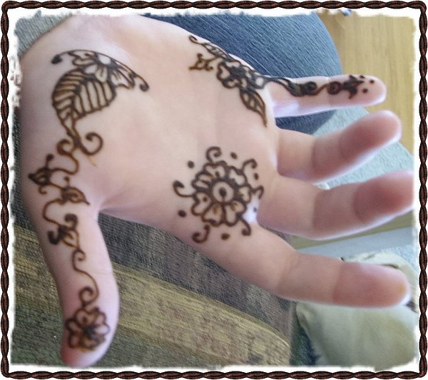 Henna Tattoos Painting - Henna Hand by Henna Tattoos Ogden Utah