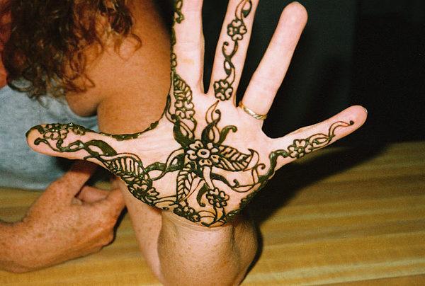 Henna Tattoos Painting - Henna  Hi There by Henna Tattoos Ogden Utah