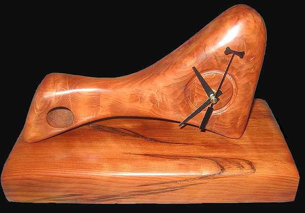 Turnings Sculpture - Henry Moores Pocket Watch by Chuck Turigliatto