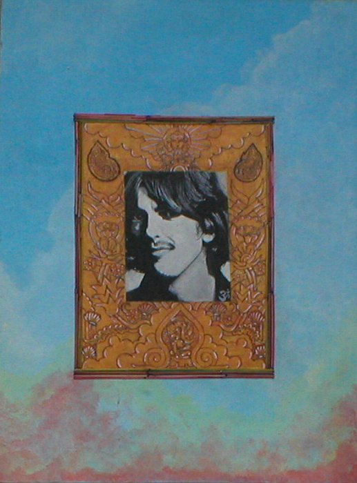 George Harrison Painting - Here Comes The Sun by Jimmy  Ovadia